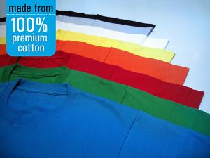 Jual Kaos Cotton Combed 30s