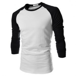 Kaos Raglan Cotton Combed 30s