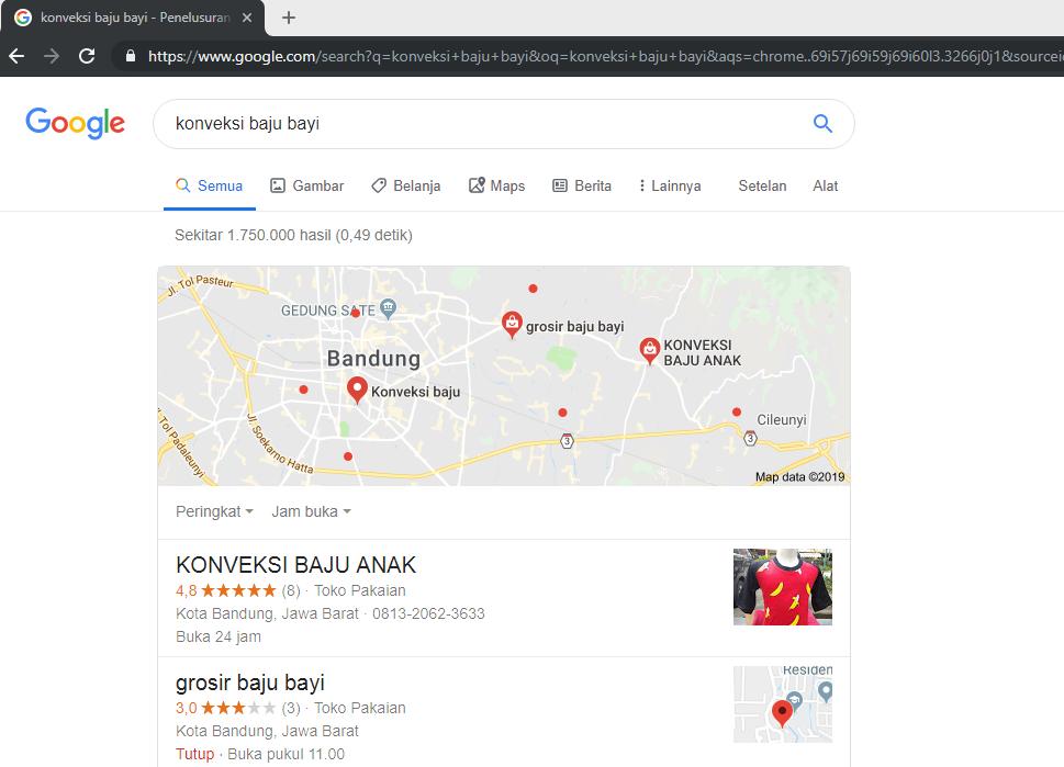 Jasa Konveksi Baju Bayi berkualitas dan murah di Bandung